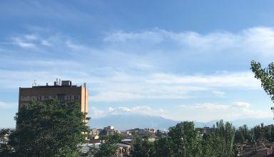 Le mont Ararat.   L'emblème de l'Arménie, en réalité en Turquie désormais